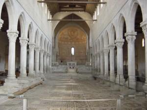 Aquileia-Basilica-Interno