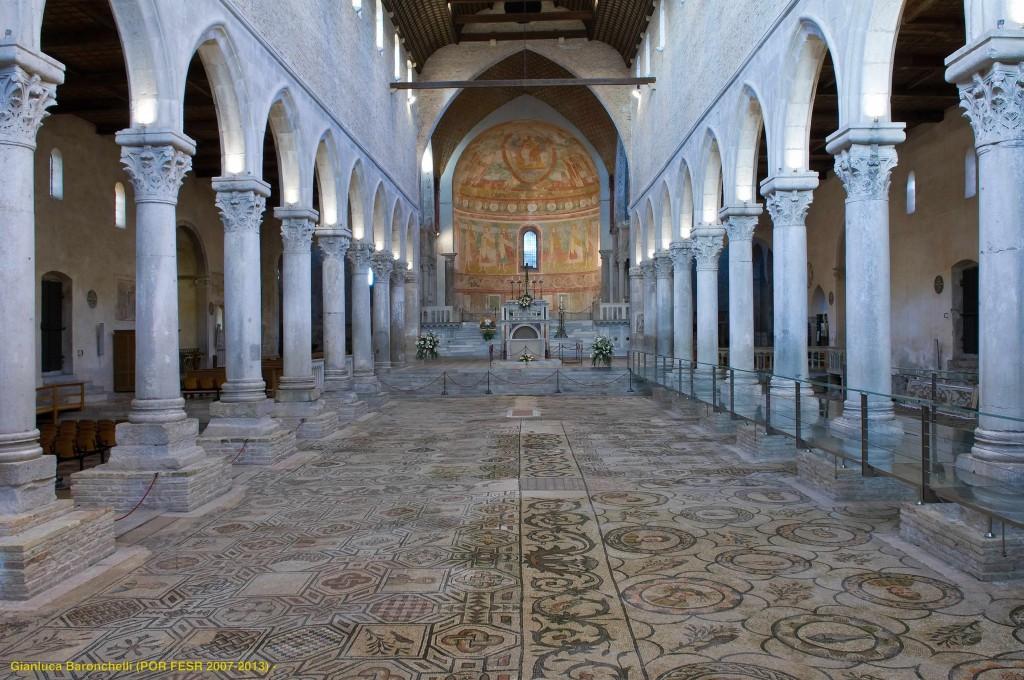 Aquileia 06_interno della basilica_Aquileia_ph_Gianluca_Baronchelli (POR FESR 2007-2013)- with ©